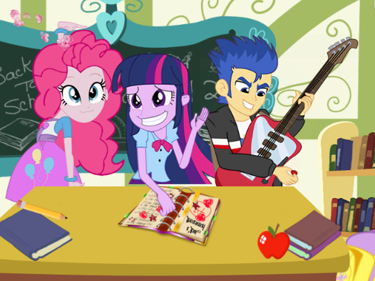 Equestria Naughty School Day Game
