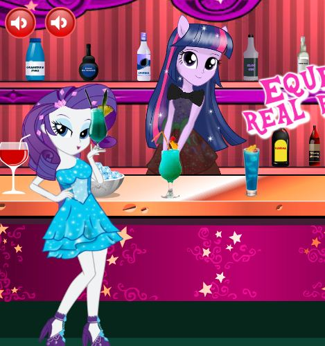 Equestria Real Bartender Game