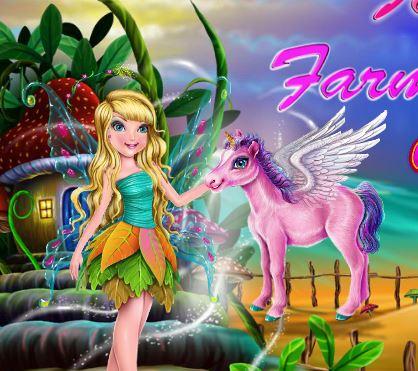 Fairy Farm Town Game