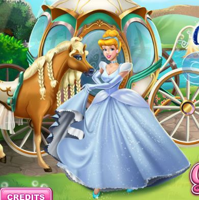 Fix Cinderella's Chariot Girl Game