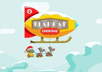 Flapcat Christmas Game