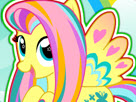 Fluttershy Rainbow Power Style Game