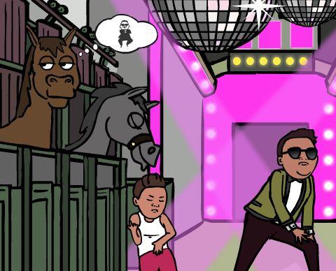 Gangnam Style Game