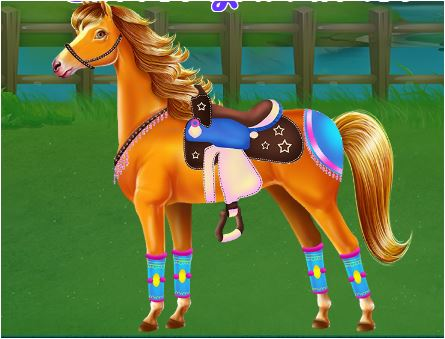 Horse And Unicorn Caring Game