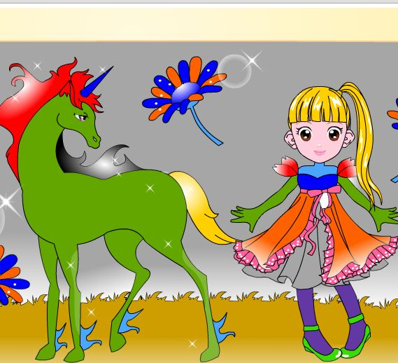 Horse Coloring Game