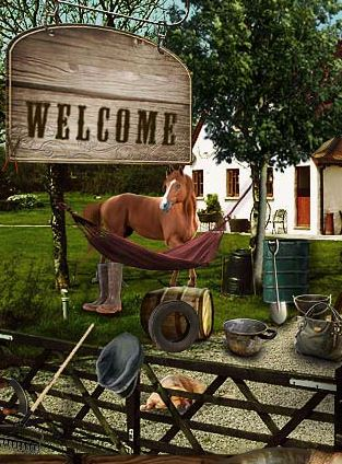Horse Farm Game