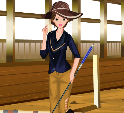 Horse Girl Rider Dress Up Game