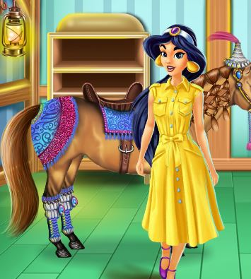 Horse Hair Salon Game