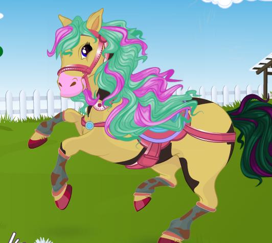 Horse Hair Studio Game