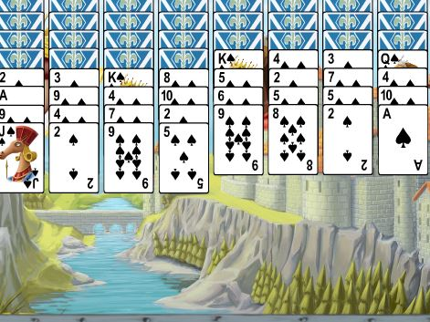 Horse Kingdom Solitaire Game