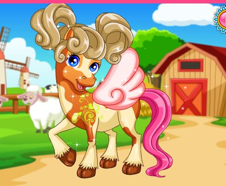 Horse Makeover Hair Salon 2 Game