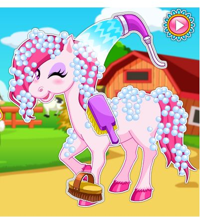 Horse Makeover Hair Salon Game