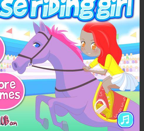 Horse Riding Girl Game