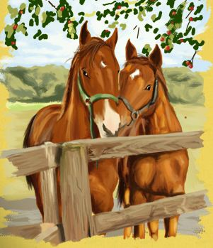 Horses Art Book Game