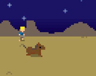 Jesus The Horse Thief Game