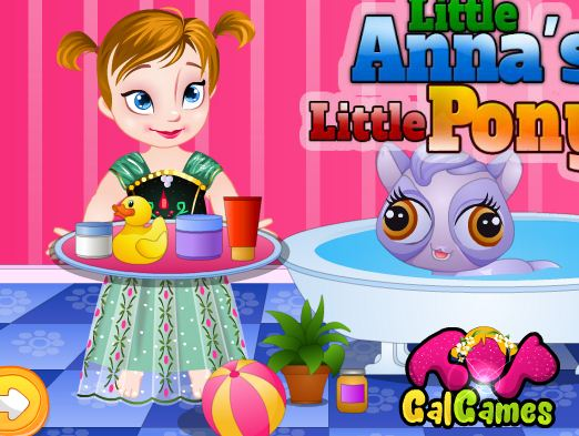 Little Anna's Little Pony Game