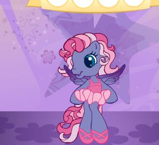 Little Ponies Ballet Game