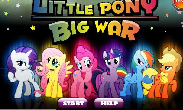 Little Pony Big War Game