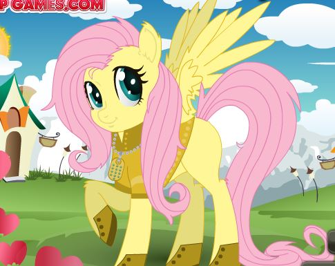Little Pony Dress Up 2 Game