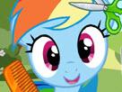 Little Pony Hair Salon Game