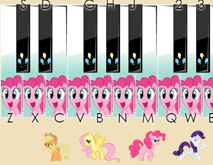 Little Pony Piano - My Little Pony Games