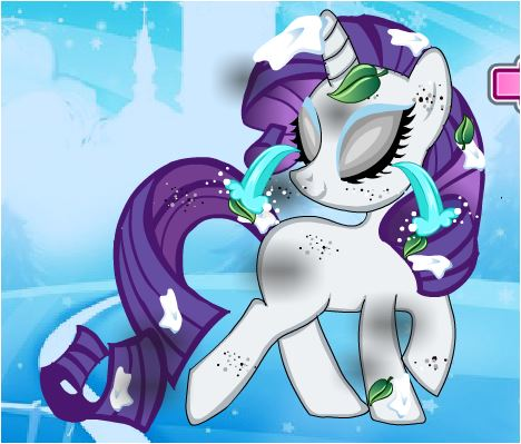 Little Pony Rarity Dressup Game
