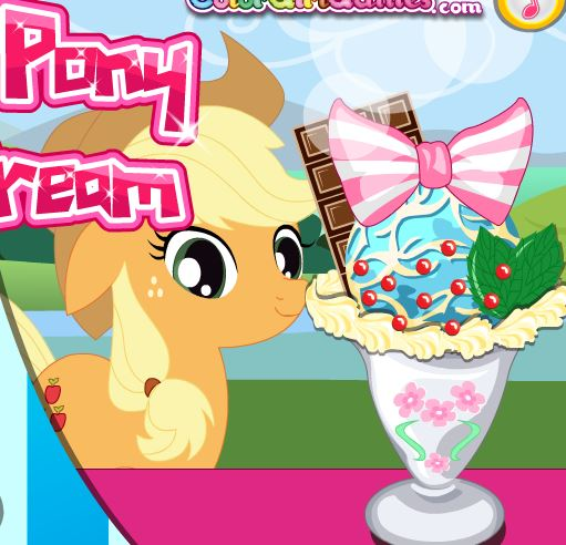 Little Pony Ice Cream 2 Game