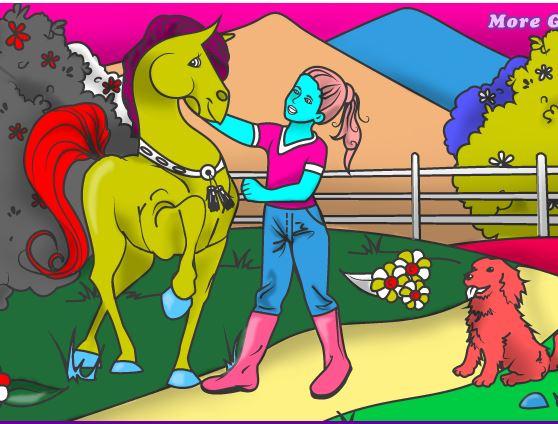 Lovely Horse Game