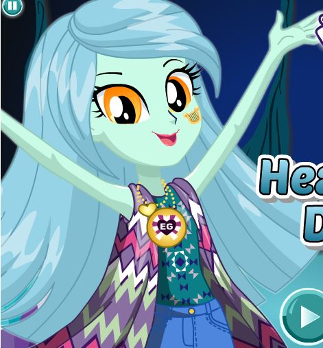 Lyra Heartstring Dress Up Game