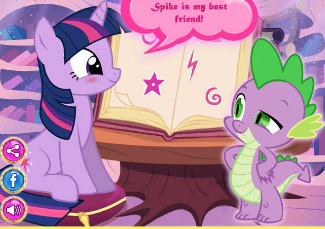 Magic With Fynsy Twilight Sparkle Game
