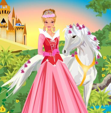 Magical Kingdom Princess Dress Up Game