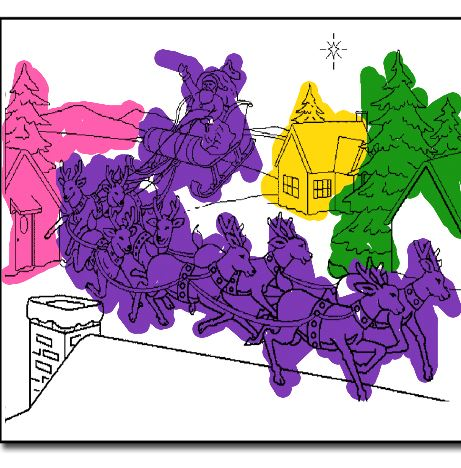 Merry Christmas Coloring Book 2 Game