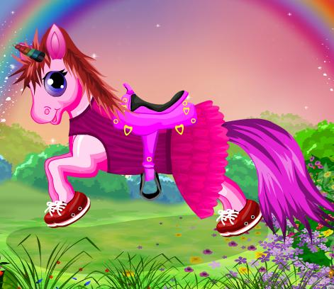 My Baby Pony Game