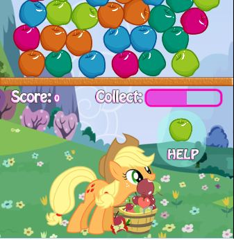My Little Pony Apples Game