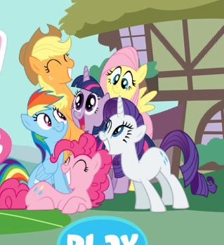 My Little Pony Bounce Game