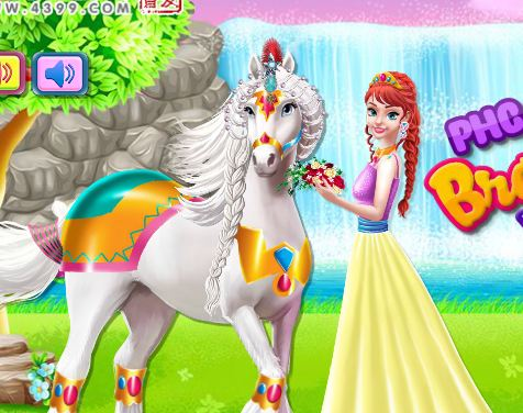 My Little Pony Braided Hair Wedding Game