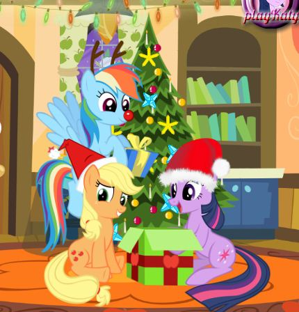 My Little Pony Christmas Disaster Game