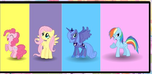 My Little Pony Colors Memory Game