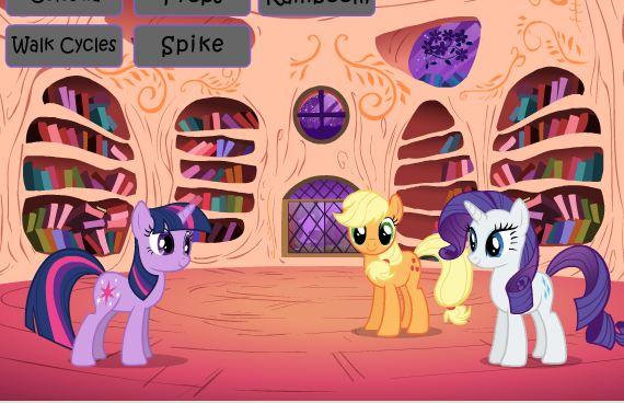 My Little Pony Flash Resource Kit Version Game