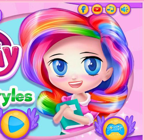 My Little Pony Hairstyles Game