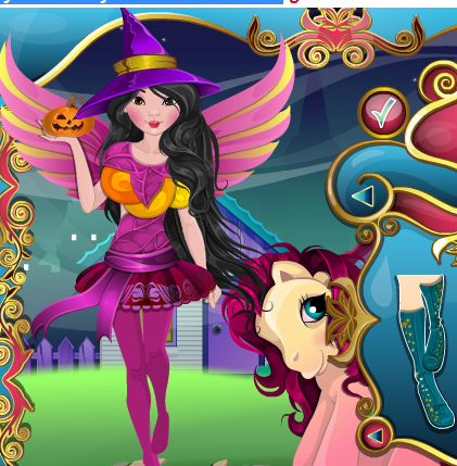 My Little Pony Halloween Costume Game