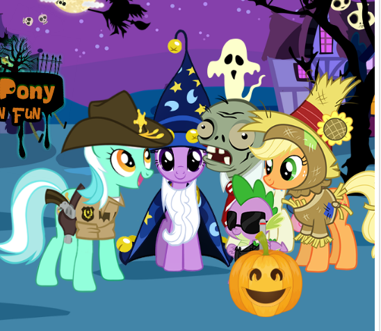 My Little Pony Halloween Fun Game