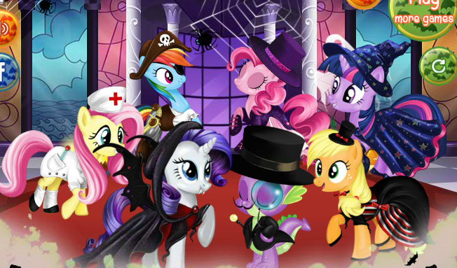 My Little Pony Halloween Party Game