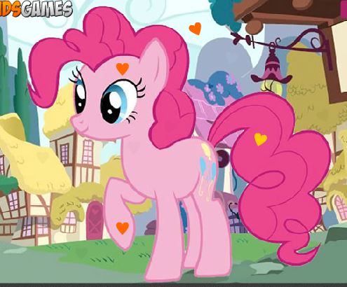 My Little Pony Hidden Hearts Game