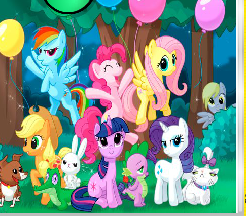 My Little Pony Hidden Stars Game