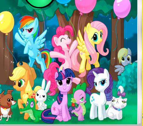 My Little Pony Hidden Stars Game