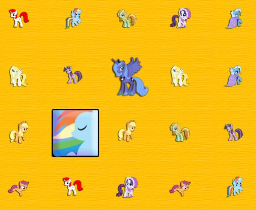 My Little Pony Match Game