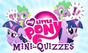 My Little Pony MiniQuizzes Game