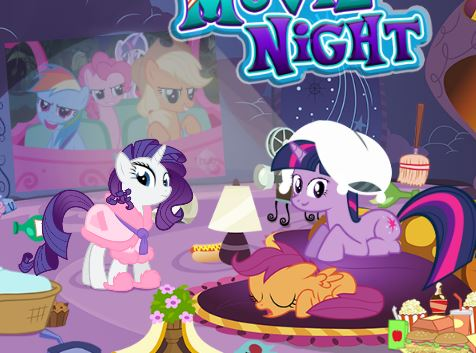 My Little Pony Movie Night Game