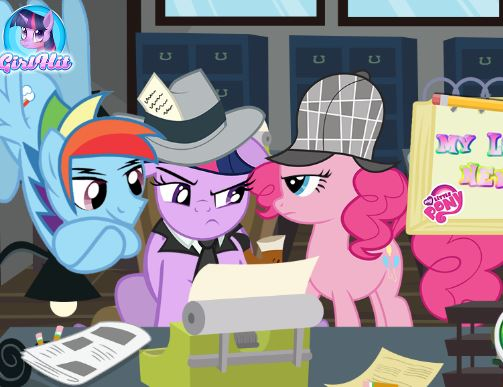 My Little Pony News Room Game
